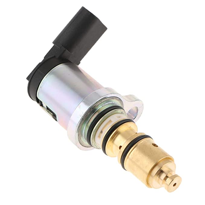 MagiDeal Válvula Solenoide Eléctrica Control de Compresor de Aire Acondicionado para Coche: Amazon.es: Coche y moto
