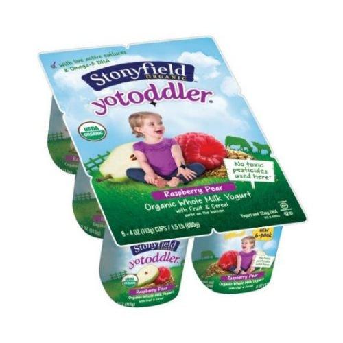 stonyfield yogurt toddler - 1