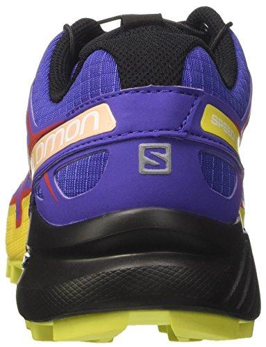 Salomon L39240300, Zapatillas Para Mujer Multicolor (SPECTRUM BLUE/Sulphur Spring/FIERY RED)