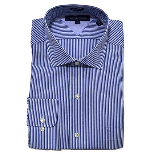 tommy-hilfiger-mens-regular-fit-stripe-dress-shirt-water-mill-165-34-35