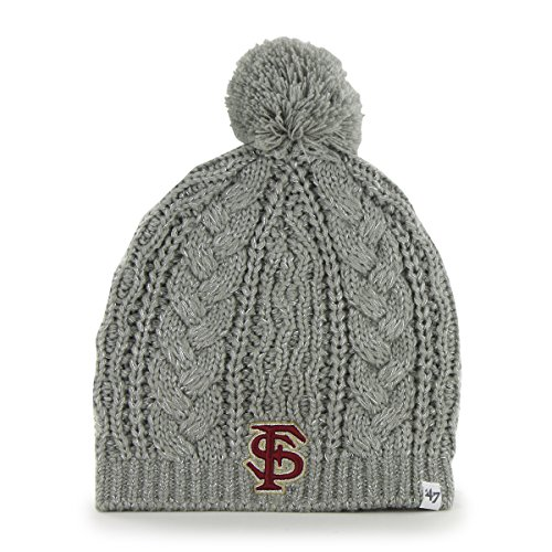 Florida State Single (NCAA Florida State Seminoles Women's Kiowa Beanie Knit Hat, One Size,)