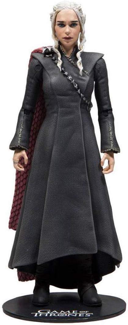 HEO GMBH- Juego De Tronos Figura Daenerys Targaryen, Multicolor (MC Farlane MCF10652-7)