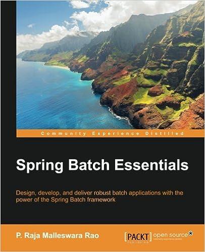 Spring Batch Essentials Raja Malleswara