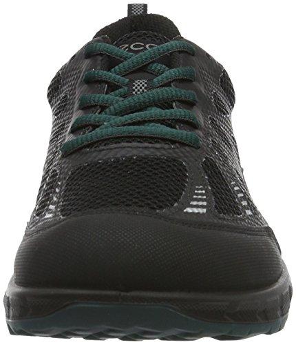 Ecco 803544, Scarpe Sportive Uomo, Multicolore (54968black/biscaya), 42 EU