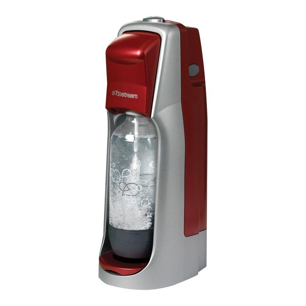 Amazon Sodastream Jet Starter Kit Red Soda Makers Kitchen