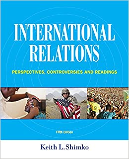 Book International Relations: Perspectives, Controversies and Readings