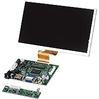 """fosa 7""""50Pin Alta resolución 1024X600 Pantalla de visualización + HDMI + VGA + 2AV Entrada con Monitor de Placa de Controlador para Raspberry Pi"""