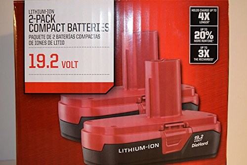 Craftsman 19 2 Volt Battery Lithium Ion Two Pp2011 Battery Packs