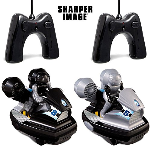 MERCER Sharper Image Remote Control Speed Bumper Vehicles - 2 Pack
