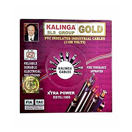 Kalinga Gold Wire 1 sq mm Red Color
