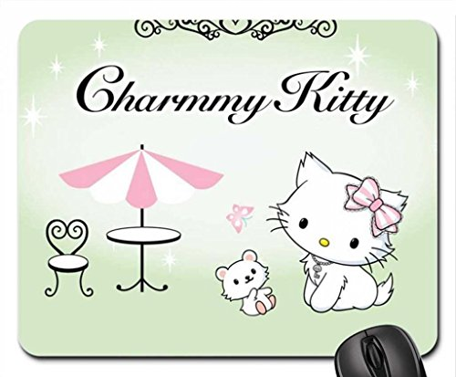 Charmmy Kitty & Sugar (4) Mouse Pad, Mousepad (10.2 x 8.3 x 0.12 inches)