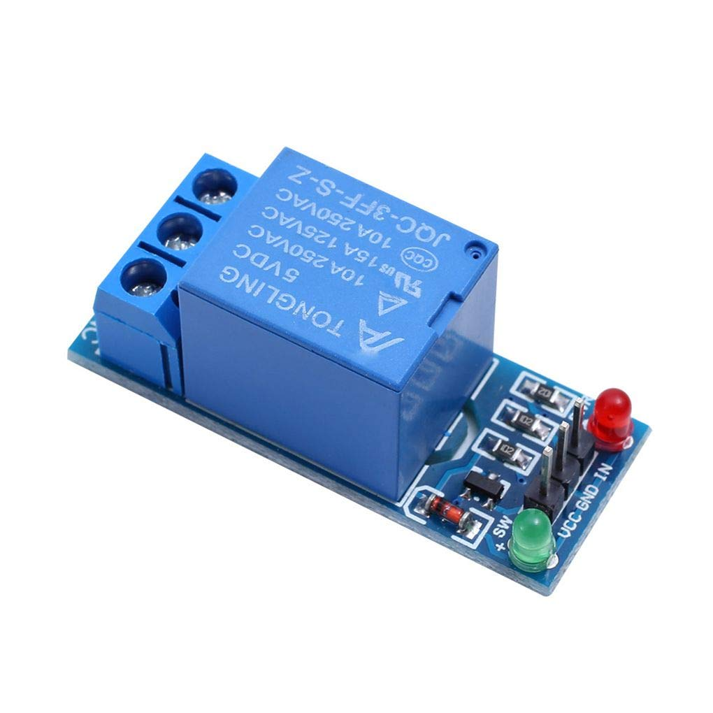 18,5 cm Babysbreath17 5V 1//2//4//8//16 Carte de Relais de Canal Module optocoupleur LED de Remplacement pour Arduino PiC Arm AVR 4 50,5 38,5