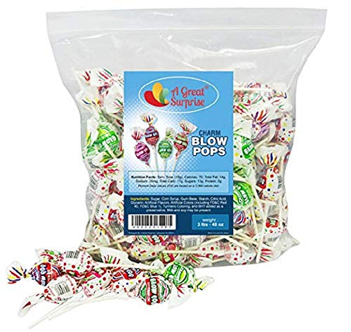 (Charms Super Blow Pop Assorted- 48 each)