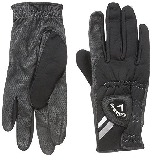 Callaway Mens Thermal Grip Golf Gloves (Pack of 2), Medium/Large, Ambidextrous