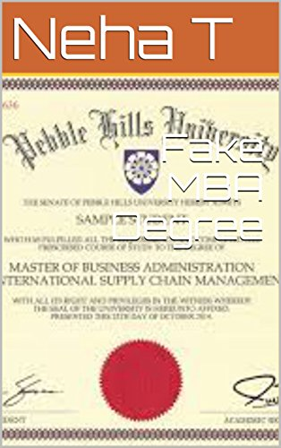 Fake MBA Degree