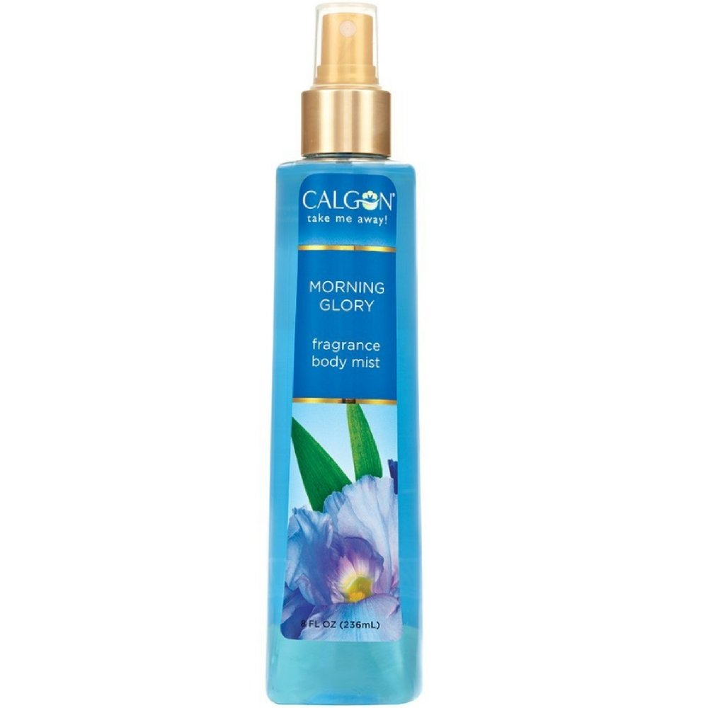 Calgon Morning Glory Fragrance Body Mist 8 oz (Pack of 7)