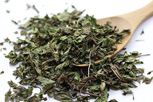 Leaves Pure Teas Herbal Tea - Tealyra - Pure Spearmint Leaves - Best African Moroccan Mint Tea - Herbal Loose Leaf Tea - Relaxing - Digestive - Caffeine-Free - 200g (7-ounce)