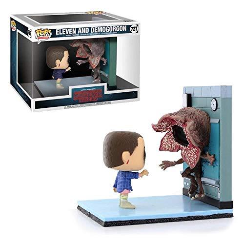 Pop! Stranger Things - Figura de Vinilo Movie Moment Eleven & Demogorgon