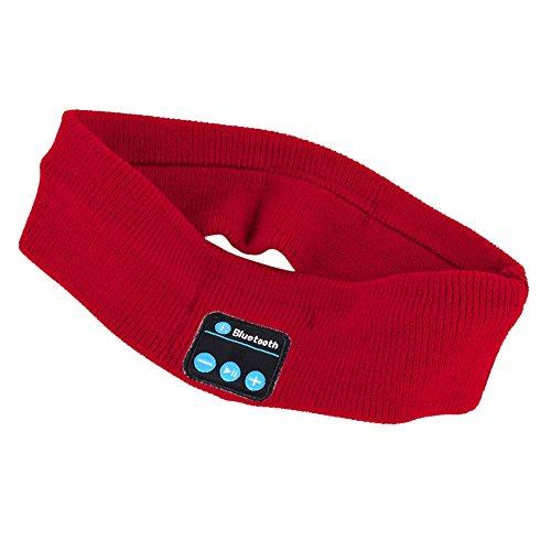 Jlong Bluetooth Music Headband Handsfree Knitted Headphone Hat Sport Sleeping Headwear