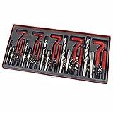 Qbace 131 Pieces Automotive Thread Repair Kit Set