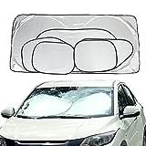 #6: Cosy Zone Car Windshield Sun Shade Set of 6 Folding Car Window Shades UV Protector Keep Vehicle Cool