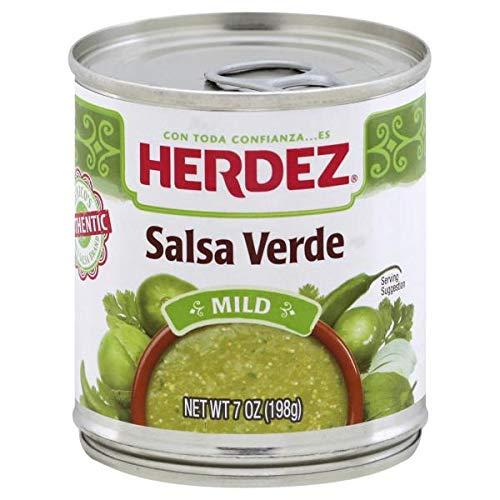 Herdez Salsa Verde, Mild, 7 ounces (Pack of 6)