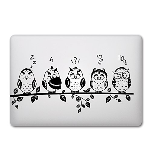 iCasso Partial Removable Sticker Laptop Bird