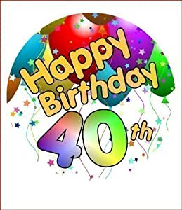 Th Birthday Cake Toppers Amazon
