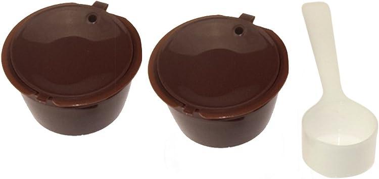 Para cápsulas de café de Nescafe Dolce Gusto cápsula Dolce reutilizable con filtro in Cafilas: Amazon.es: Bricolaje y herramientas