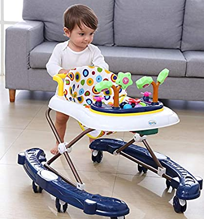 Amazon.com : Baby Trotteur Folding Baby Walker Baby Scooters ...