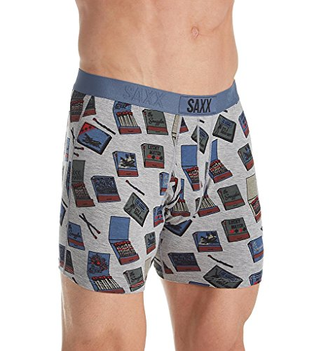 6e63e4f16d465d Saxx Underwear Men's Ultra Boxer Fly Matchbook Large available in ...