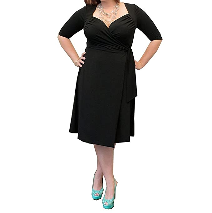 Riveroy Women\'s Formal 3/4 Sleeve Plus Size Short Mother of the ...