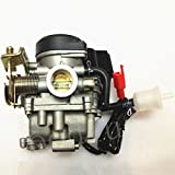 50cc scooter carburetor 4 stroke - Carb Carburetor for 4 Stroke GY6 49cc 50cc Chinese Scooter Moped 139QMB Taotao Kymco