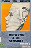 img - for Retorno a Lo Sensible Filosofia y Estetica (1980 Spanish Paperback Edition) book / textbook / text book
