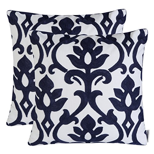 Mika Home Embroidery Vintage Cushion