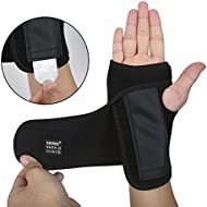 DOB AOLIKES Carpal Tunnel Wrist Brace with Removable Splint and Adjustable Support Wrap