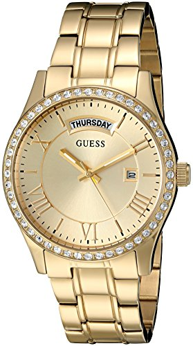 GUESS U0764L2 Gold Tone Stainless Multi Function
