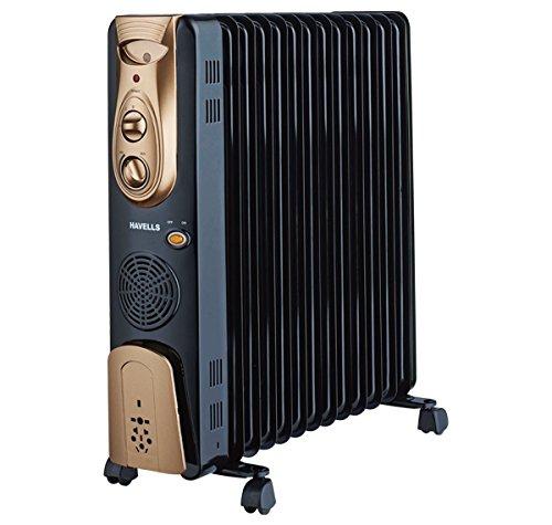 Havells OFR - 13Fin 2900-Watt PTC Fan Heater (Black)