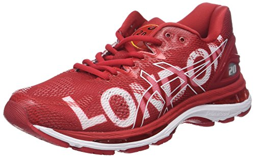 Asics Gel-Nimbus 20 London Marathon, Scarpe da Running Uomo Multicolore (London/2018/Red)