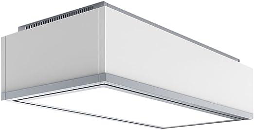 Baraldi Xenia Campana extractora de Cocina, Cristal, Blanco, 90 x 61 x 33.7 cm: Amazon.es: Hogar