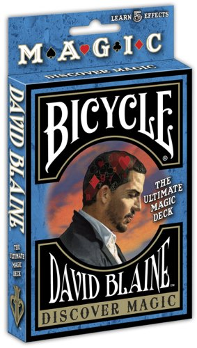 Bicycle David Blaine Discover Magic Playing Card Deck