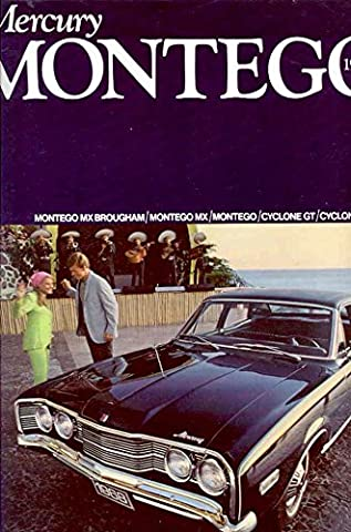 1968 Mercury Montego Cyclone Comet Brochure Canada - 1968 Mercury Comet