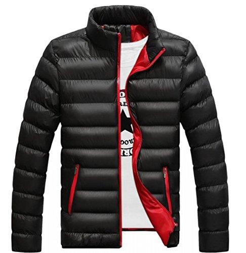 M&S&W Men Casual Packable Ultra Puffer Down Coats Jackets Black
