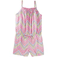 Osh Kosh Girls' Sleeveless Romper