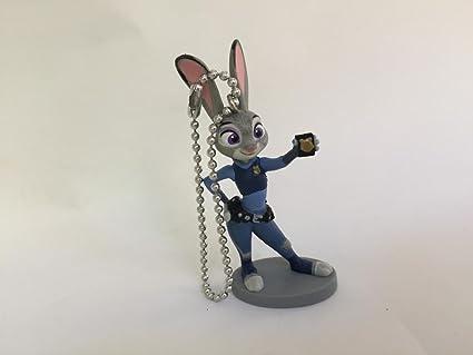 Amazon.com: Disney zootopia Judy Hopps PVC Figura llavero ...