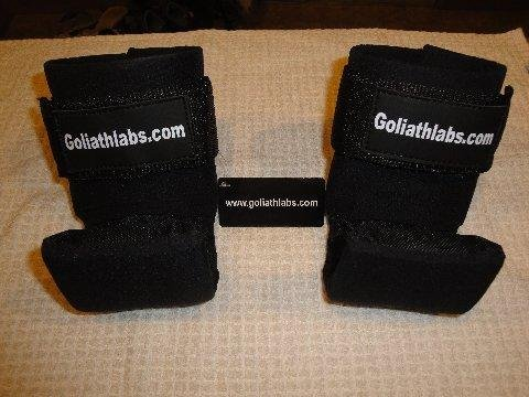 Goliath Labs Gravity Boots – For Upper Body Workouts – Comfortable, Sturdy Design – Easy to Use – Black by Goliath Labs