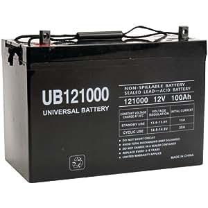 Universal Power Group 45978 Sealed Lead Acid Battery