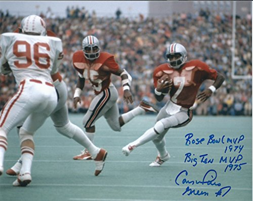 Ohio State University Memorabilia (Autographed Cornelius Greene Ohio State University 8x10 Photo)