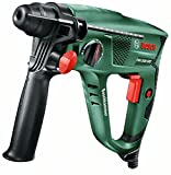 Bosch DIY Bohrhammer PBH 2500 SRE, SDS Bohrfutter, 6tlg. SDS-plus Bohrerset, Tiefenanschlag, Zusatzhandgriff, Koffer (600 W, Bohr-Ø Beton 22 mm)