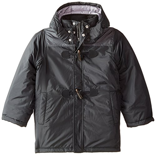 Boys' Nautica Coat Hooded Toggle Black Closure xZvnqYvrwd